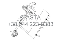 Рулевой механизм в сборе I (нерегулируемый) на YTO X1254