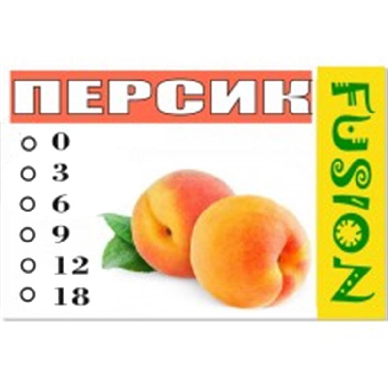FUSION Жидкость для электронных сигарет. Фруктовые вкусы. Персик, 18 мг