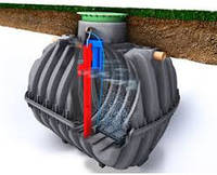 Революционная cистема автономной канализации для дома One2clean (Германия) для 6 чел.
