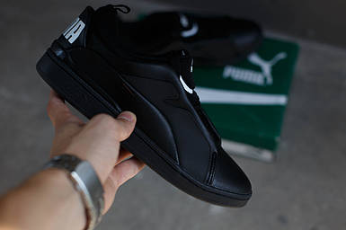 Кроссовки Puma Alexander Mcqueen McQ Brace Lo (черные)