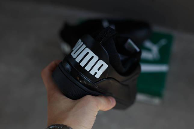Кроссовки Puma Alexander Mcqueen McQ Brace Lo (черные), фото 2