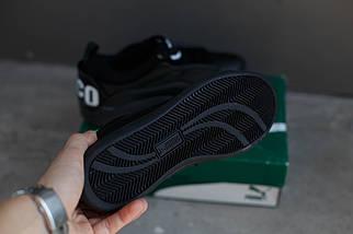 Кроссовки Puma Alexander Mcqueen McQ Brace Lo (черные), фото 3