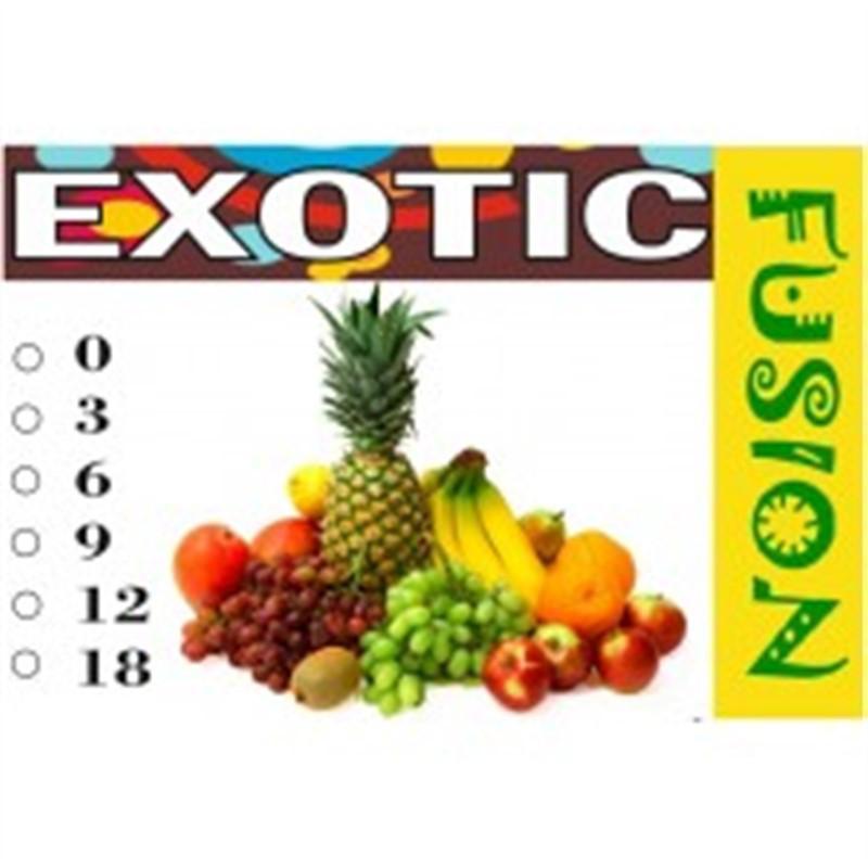 FUSION Жидкость для электронных сигарет. Фруктовые вкусы. Экзотик, 12 мг