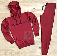 8dbfaed4 Мужской спортивный костюм Champion красного цвета (люкс копия)