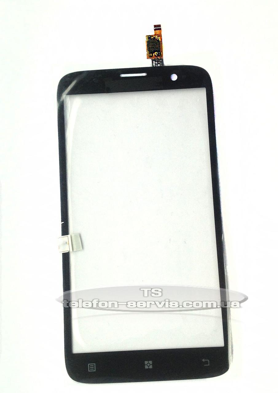 Сенсорный экран Lenovo A850, черный