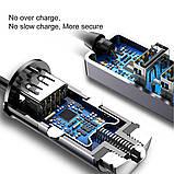 Зарядное устройство Baseus Enjoy Together Four Interfaces Output Patulous Car Charger 5.5A Black (CCTON-0G). Т, фото 4