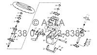 Рулевой механизм в сборе III (опция) на YTO X1254