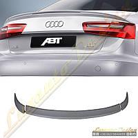 Спойлер стиль ABT для Audi A6 2012-16, фото 1