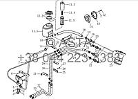 Гидравлическое рулевое управление на YTO X1254, фото 1
