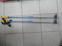 Лыжные палки 95см. б/у.