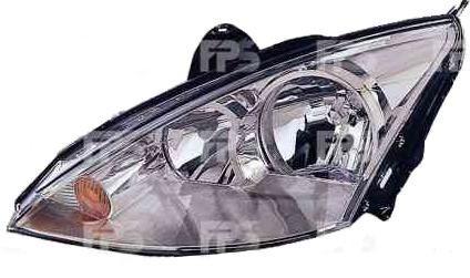 Фара передняя для Ford Focus '99-04 правая (DEPO) механическая/под электрокорректор