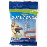 SENTRY Sergeants Dual Action ПОДВІЙНЕ ДІЮ нашийник від бліх та кліщів для собак великих порід, L, до 62 см