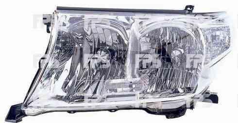 Фара передняя для Toyota Land Cruiser 200 '07- правая (DEPO) под электрокорректор