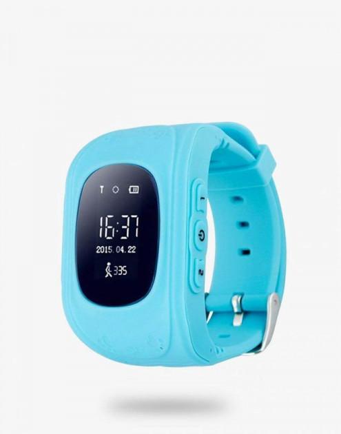 Детские смарт-часы с GPS Smart Baby Watch Q50-PLUS Голубой
