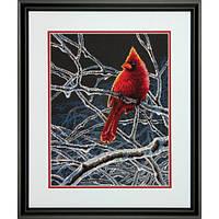 Набор для вышивания крестом Ледяной кардинал/Ice Cardinal DIMENSIONS 70-35292