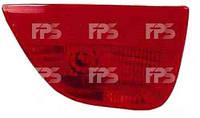 Фонарь задний для Ford Focus II хетчбек '04-08 левый (DEPO) в бампере, с противотуманной фарой