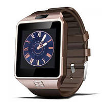 Умные часы Smart Watch SKL GSM Camera DZ09 Gold