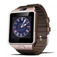 Умные часы Smart Watch SKL GSM Camera DZ09 Gold