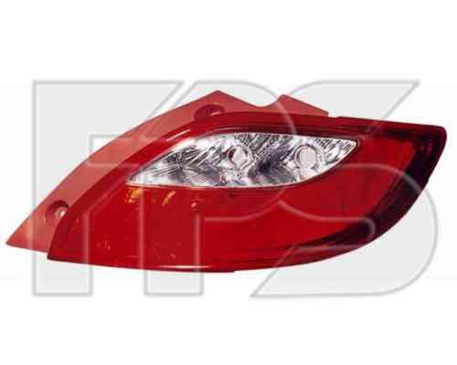 Фонарь задний для Mazda 2 '07-11 правый (DEPO)