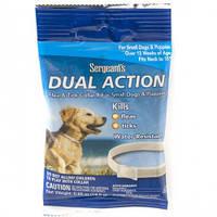 SENTRY Sergeants Dual Action ПОДВІЙНЕ ДІЮ нашийник від бліх та кліщів для собак малих порід і цуценят,S,до38см