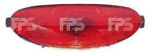 Фонарь задний для Peugeot 206 '98-06 противотуманный