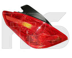 Фонарь задний для Peugeot 308 хетчбек '08-11 левый (MM)
