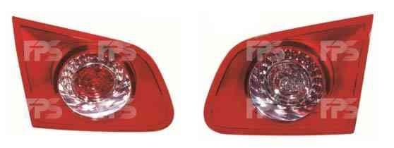 Фонарь задний для Volkswagen Passat B6 универсал '05-10 левый (DEPO) внутренний