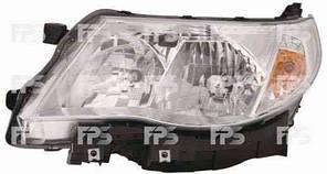 Фара передняя для Subaru Forester '08-12 правая (DEPO) под электрокорректор