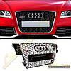 Решетка радиатора стиль RS5 для Audi A5 2008-12