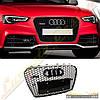 Решетка радиатора стиль RS5 для Audi A5 2012-16