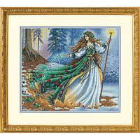 Набор для вышивания крестом Лесная волшебница/Woodland Enchantress DIMENSIONS  35173