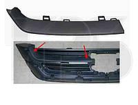Накладка решетки капота верхняя правая черная