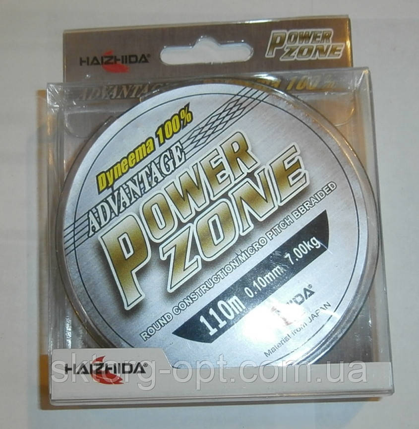 Шнур Haizhida Avantage Power Zone 110m 0,10 Dyneema 100%
