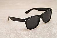 Солнцезащитные очки Ray Ban Wayfarer Polarized поляризованные 2140 черные b4f67eda660