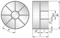 Заглушки плоские приварные с ребрами ОСТ 34.10.759-97
