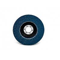 Шлифовальный круг лепестковый торцевой конический 566A P60 125мм Х 22 мм
