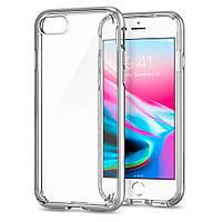 Чехол Spigen для iPhone 8 / 7 Neo Hybrid Crystal 2, Satin Silver, фото 1