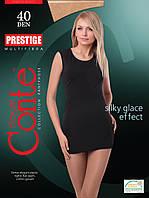 Женские колготки Сonte / конте Prestige высокого класса с нитью MULTIFIBRA 40DEN