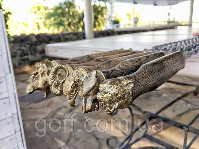 Шампура в наборе Дикие Звери