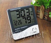 Електронний термометр-гігрометр HTC-1