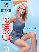 Колготки женские Сonte Tango прозрачные по всей длине 20 DEN