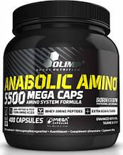 Комплексные аминокислоты в капсулах OLIMP Anabolic Amino 5500 400 caps