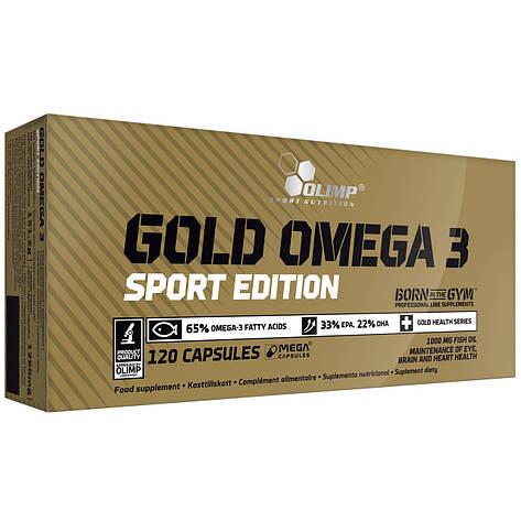 OLIMP Gold Omega 3 Sport Edition 120 caps, фото 2