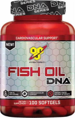 BSN Fish Oil DNA 100 softgels, фото 2
