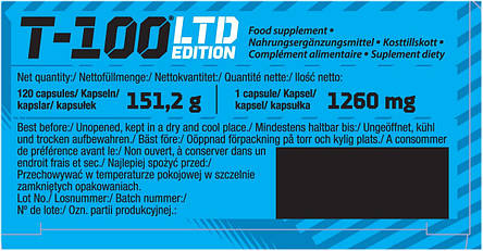 OLIMP T-100 LTD Edition 120 caps, фото 2