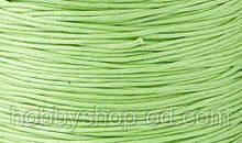 Вощенный шнур светло-зеленый (примерно 80 м)