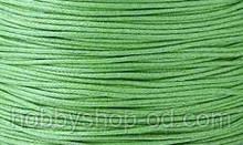 Вощенный шнур зеленый (примерно 80 м)
