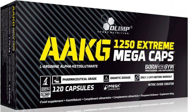OLIMP AAKG Extreme mega caps 120 caps, фото 2