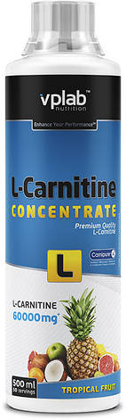 VP Lab L-Carnitine Concentrate 60.000, 500 ml, фото 2