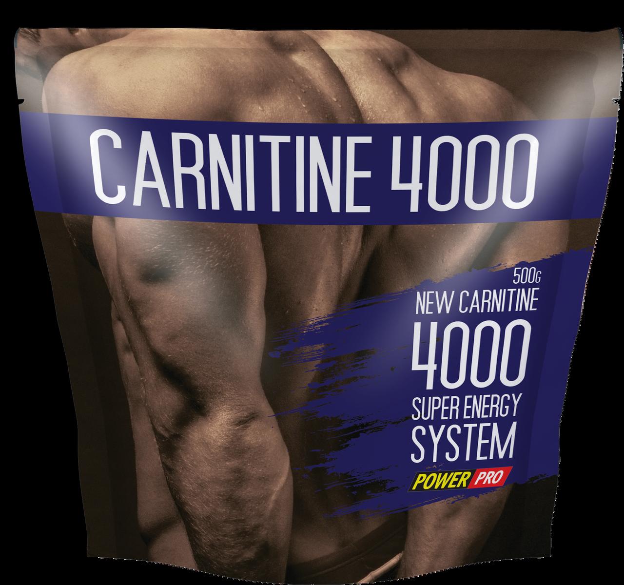 Л карнитин в порошке Power Pro Carnitine 4000 500 g